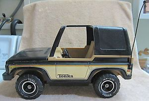 Vintage 1970's Tonka Bronco Jeep 4x4 Off Road Vehicle Mr 970 Tires with Spare