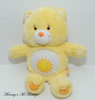 "Care Bears Talking Funshine Bear 14"" Plush Toy"