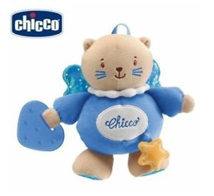 Chicco Baby Soft Color Kitten Cat Toy 6M