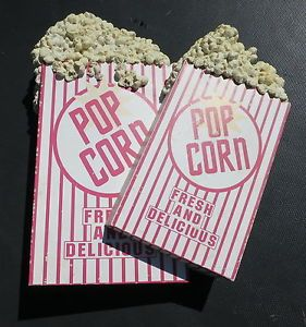 Home Theater Decor Popcorn 3 D Sign Metal Wall Art
