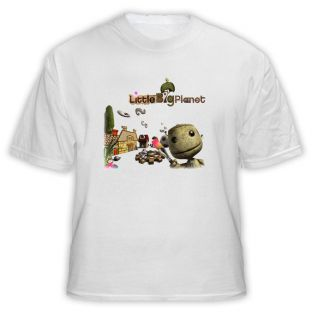 Little Big Planet Videogame T Shirt White
