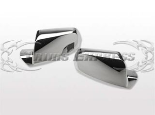 2010 2013 Chevy Equinox GMC Terrain Chrome Door Mirror Covers 2pcs