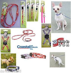 Mixed Wholesale Lot of 41 Li'L Lil Pals x Small Dog Puppy Leash Collar Harness