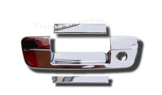 2009 2013 Dodge RAM 1500 2010 2013 RAM 2500 HD Chrome Tailgate Handle Cover w KH