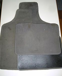 4 Piece Chysler Town Country Dodge Front and Back L R Floor Mats Gray Carpet