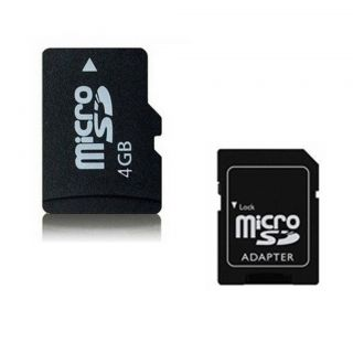 New 4G 4GB Micro SD TF Card High Speed Memory with Adapter for Samsung HTC Phone