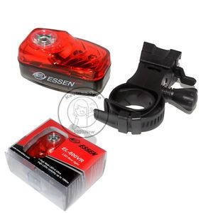 1pcs New El 600VR Bicycle Tail Light LED Bike Lamp AAA Rear Bicycle Red