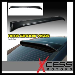 06 12 Honda Civic JDM Vent Shade Rear Window Visor 2007