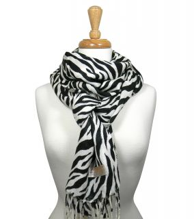 Pashmina Scarf Zebra Leopard Animal Print Wrap Shawl New