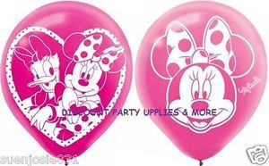 Disney Minnie Mouse Daisy Duck Latex Party Balloons Decorations