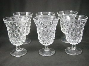 Fostoria American Footed Glasses