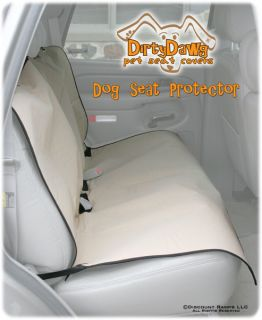 Dirty Dawg Deluxe Hammock Dog Bench Seat Protector Cover Pet Cat Car SUV Truck