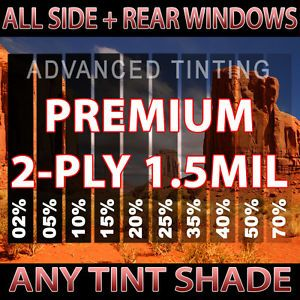 Premium 2ply HP Window Film Any Tint Shade Precision Cut for Ford Trucks