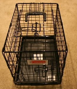 Proconcepts 2 Door Wire Metal Puppy Small Dog Cat Crate Cage w Carrying Handle