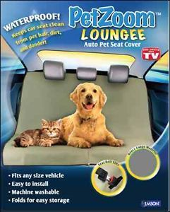 Petzoom Longee Auto Rear Back Car Pet Dog Cat Seat Protector Cover Water Proof