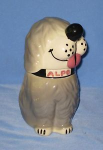 Dan The Dog Vintage Alpo Dog Food Advertising Promo Cookie Jar McCoy Pottery