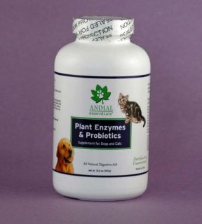 Animal Essentials Plant Enzymes Probiotics Natural Digestive Aid Dogs Cats