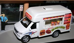 Fast Food Catering Truck Hot Dog Hamburger 1 43 Scale
