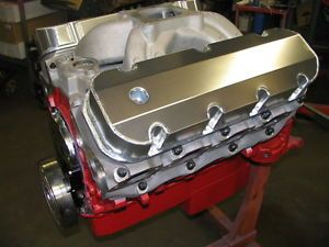 Big Block Chevy 540 Drag Race Engine 830HP Dart Block Je Pistons Canfield Heads