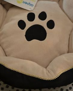 "Aspen Pet Bed 18"" Round Dog Bed Small Pet Bed"