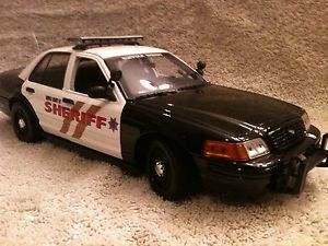 Suffolk County New York Sheriff Dept Ford Crown Vic Diecast UT Model