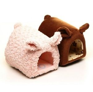 Pretty Pig Shaped Pet Dog Cat House Bed Kennel Small