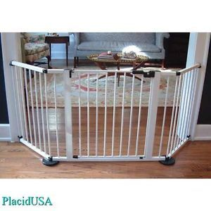 Cardinal Versagate Custom Safety Pet Dog Safety Modular Gate Pen VG65 White