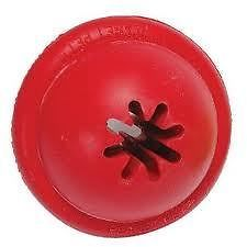 Red Planet Kong Goodie Ball Rubber Dog Toy Treat