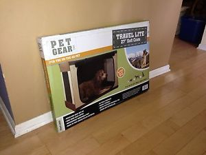 Pet Gear Travel Lite Soft Dog Cat Pen Crate Cage Medium
