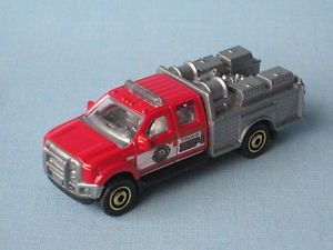 Matchbox Ford F 550 Super Duty Fire Engine Rescue Truck Pumper Unit