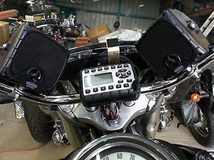 Jensen Radio JHD910 Waterproof Mini Am FM WB Radio with Speakers Motorcycle