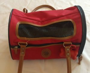 Red Carrier by American Kennel Club Sherpa Small Pet Carrier Cat Dog
