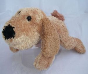 Goffa Intl Plush Stuffed Animal Brown Puppy Dog Toy 13""