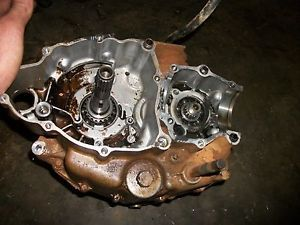 94 98 Yamaha Timberwolf 250 4x2 Bottom End Motor Engine Crank Case Bear Tracker