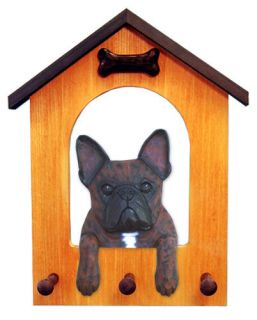 French Bulldog Dog House Leash Holder in Home Wall Decor Products Gifts