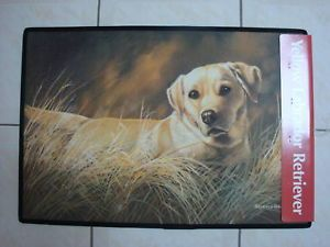 Yellow Labrador Retriever Dog Colour Door Floormat