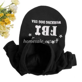 Winter Warm Cotton Pet Dog Hooded Sweater Clothes Velvet Apparel Costumes Cute