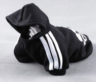 Dog Hoodie Coat Jacket Sport Sweater Shirt Jumper Small Dog Clothe Costume 5sz
