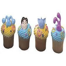 Blues Clues Cupcake Topper Decoration Party Kit Cake Dog Birthday Supplies