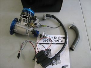 Evolution 26GT2 26cc Gas Powered Model Airplane Engine Used