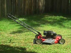 "Murray Push Walk Behind Gas Powered Briggs Stratton Engine 22"" Lawn Mower"