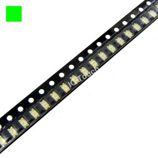 50pcs Green SMD SMT LED 1206 Superbright Green LEDs Lamp Light