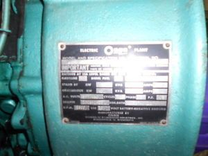 Ford Industial 292 312 Y Block Engine Motor Onan Generator Heavy Duty