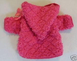 S New Bright Pink Soft Hoodie Sweater Dog Clothes Pet Apparel Small