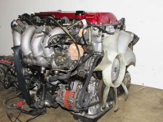 JDM Nissan Silvia SR20DET s13 Red Top Engine 240sx 180sx Turbo Motor Trans ECU