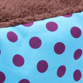 Pet Dog Puppy Cat Soft Fleece Warm Bed House Plush Cozy Nest Mat Pad Mat 7 Color