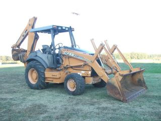 2007 Case 580M Series II Backhoe Loader Very Low Hours