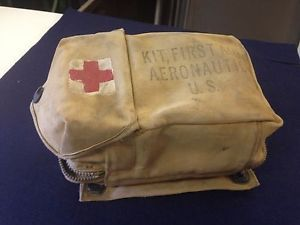 WWII First Aid Kit Aeronautic US