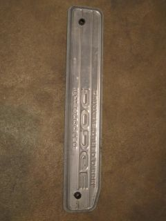 89 98 12V Dodge RAM Cummins Diesel Engine Valve Cover Plate