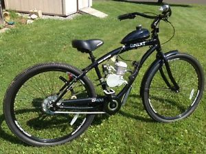 "New Custom 29"" Beach Cruiser Bicycle w 80cc Gas Engine Motor Upgrades Look"
